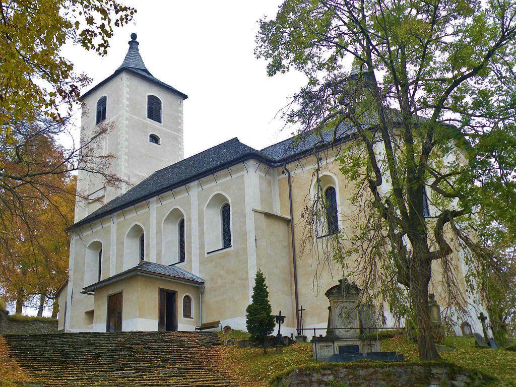 Horní Maršov Hřitovní Kostel | Pension & kavárna Pod sv. Annou